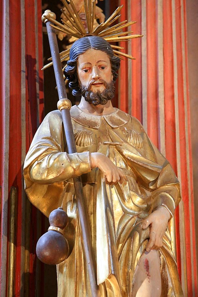 St. Roch, St. Nicolas de Veroce, Haute-Savoie, France, Europe