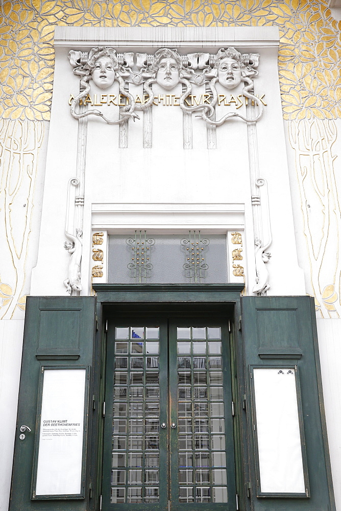 The Secession building designed by Joseph Maria Olbrich in 1897, Vienna, Austria, Europe