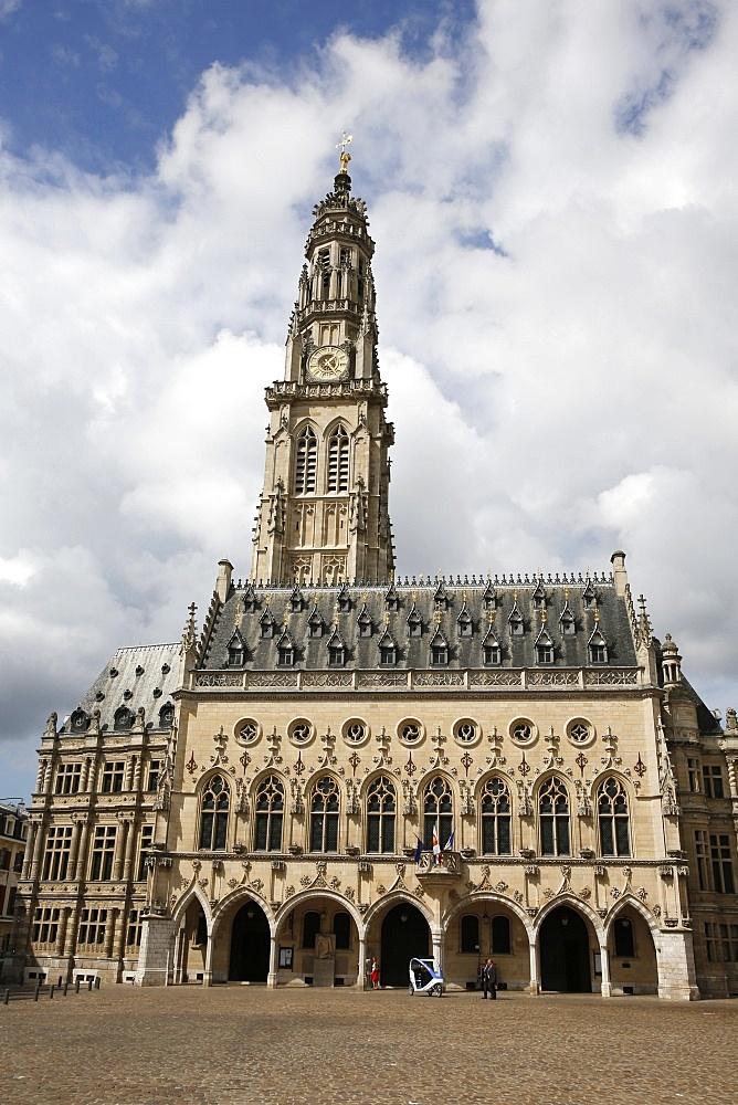 Town Hall, Arras, Pas-de-Calais, France, Europe