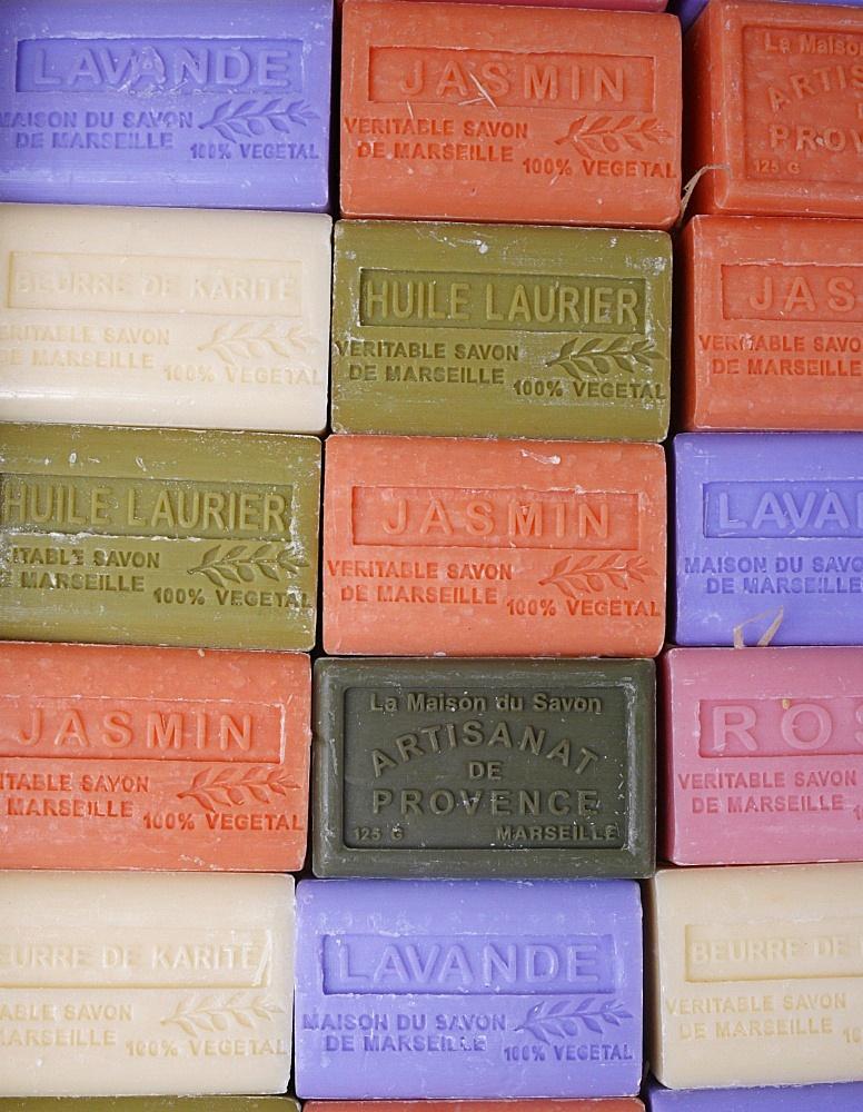 Marseilles soap bars, Paris, Ile de France, France, Europe