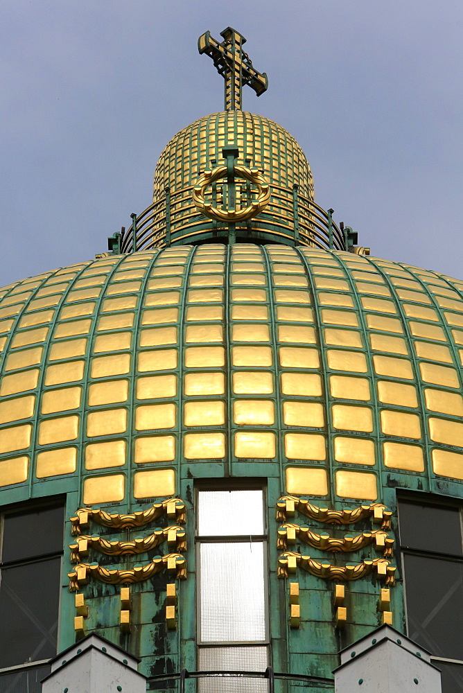 Dom, Steinhof Church built by Otto Wagner between 1902 and 1907, Vienna, Austria, Europe