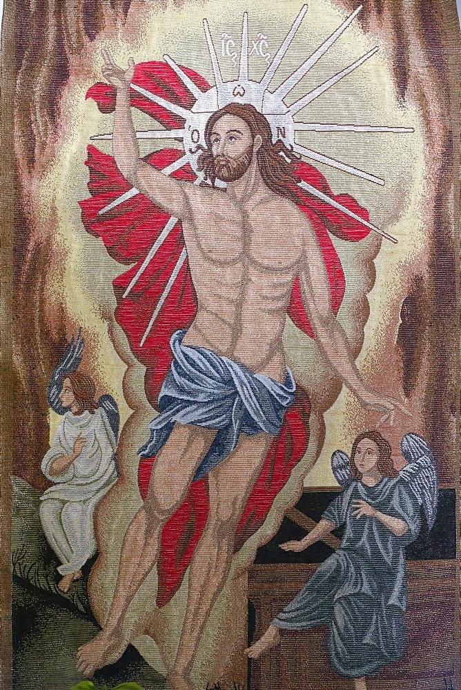 Resurrection of Christ, Entreves, Aosta Valley, Italy, Europe