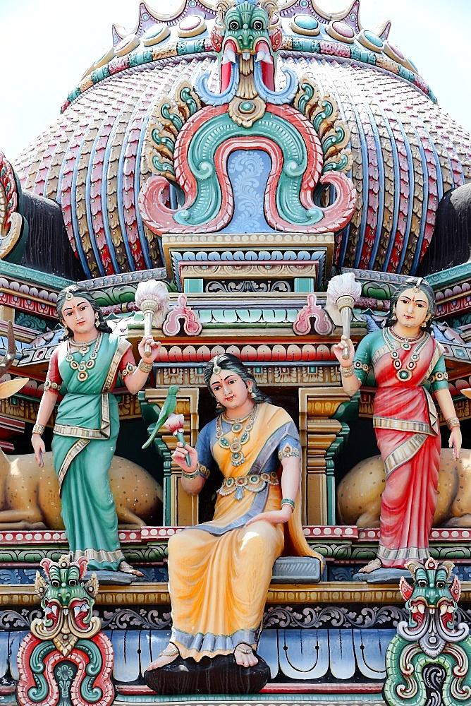 Sri Mariamman Hindu temple.