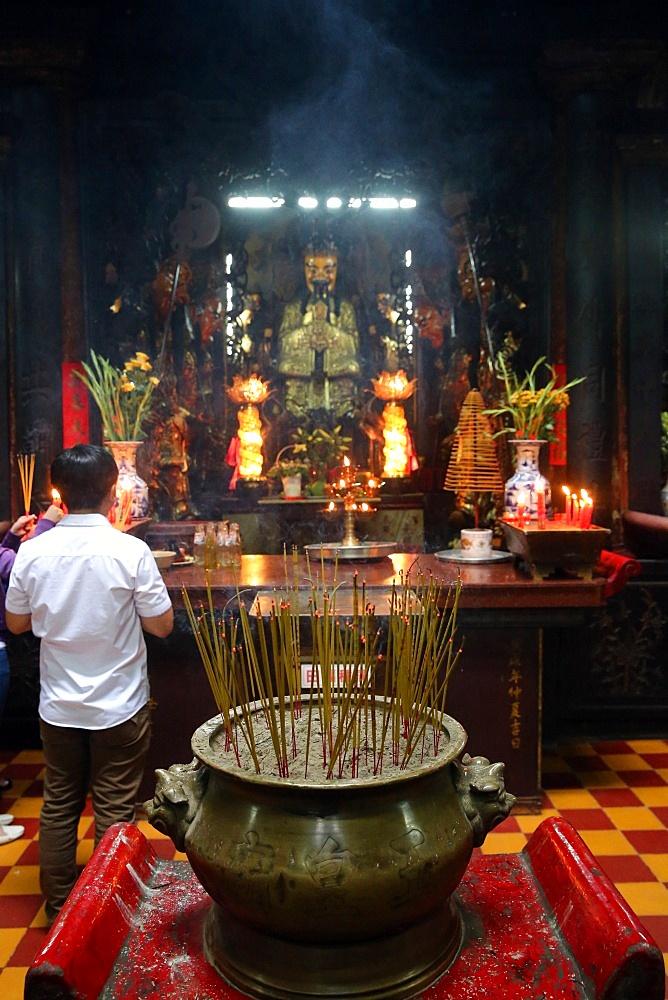 Taoist temple. Jade Emperor pagoda (Chua Phuoc Hai), Ho Chi Minh City, Vietnam, Indochina, Southeast Asia, Asia