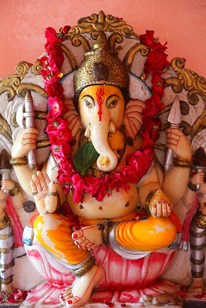 Ganesh Murthi in Goverdan, Uttar Pradesh, India, Asia