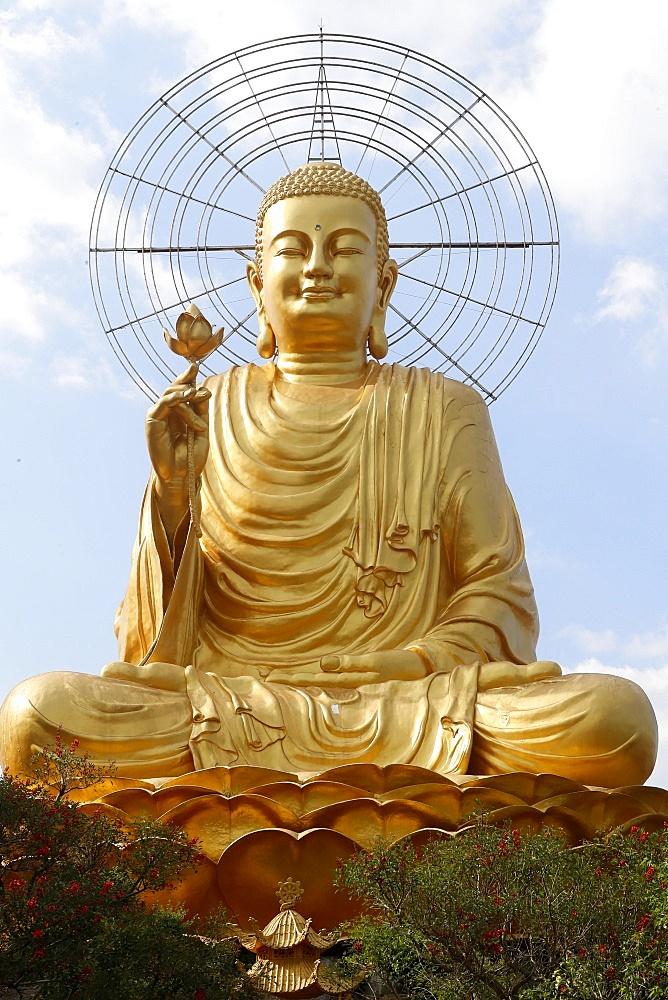 Van Hanh Zen Buddhist Monastery, Dalat, Vietnam, Indochina, Southeast Asia, Asia