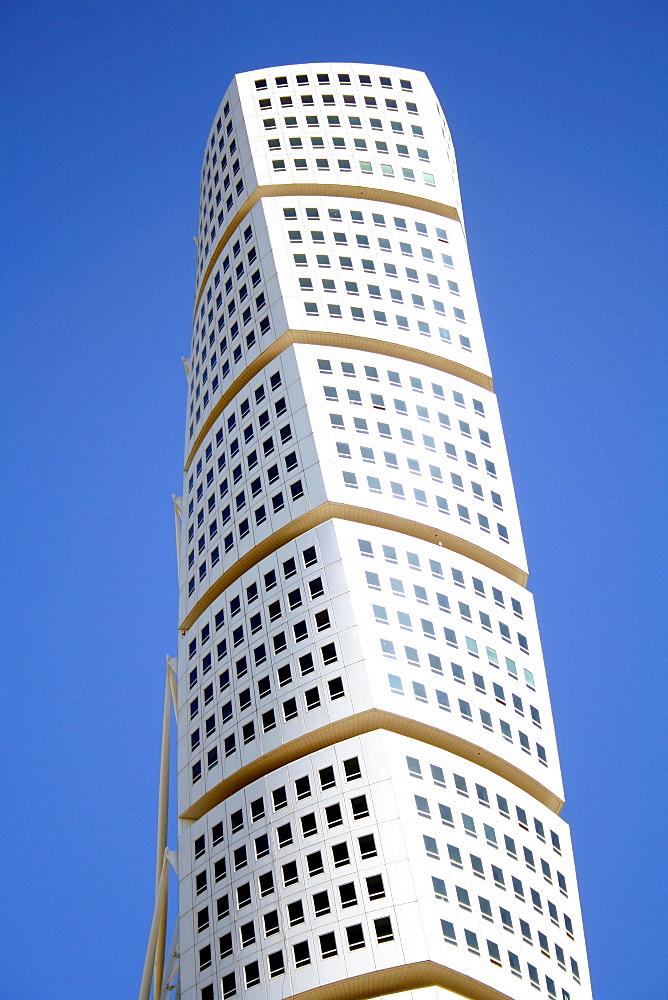 Turning Torso, architect Santiago Calatrava, Malmo, Sweden, Scandinavia, Europe