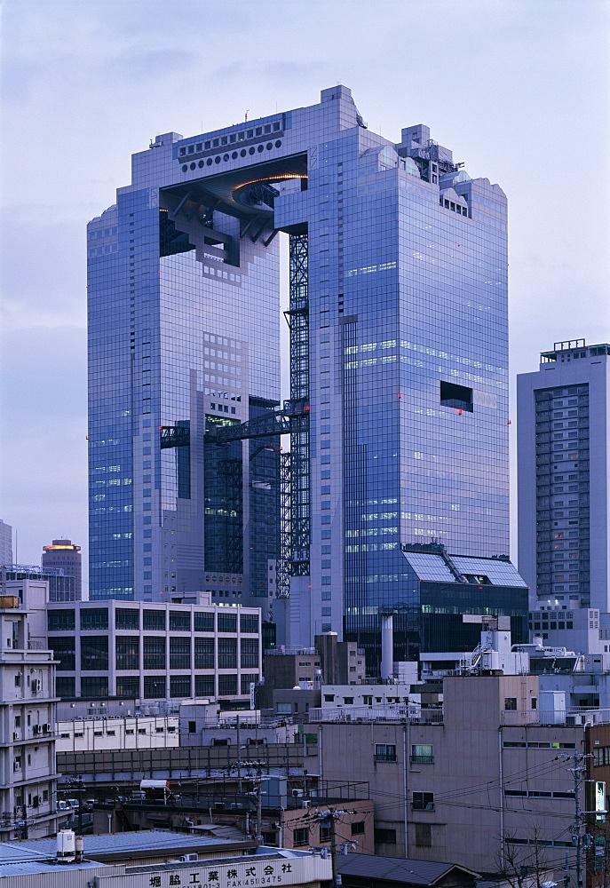 Sky building, Osaka, Japan, Asia
