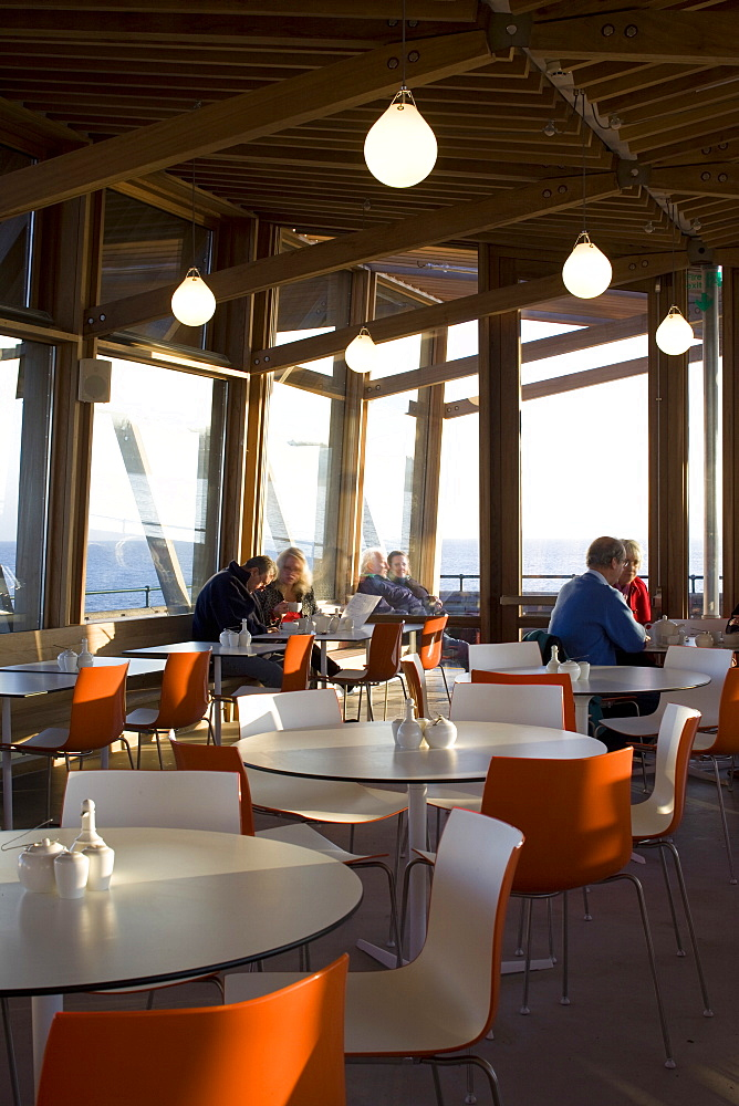 Jasin's Restaurant, architects Niall Mclaughlin, Deal Pier, Deal, Kent, England, United Kingdom, Europe - 815-2143