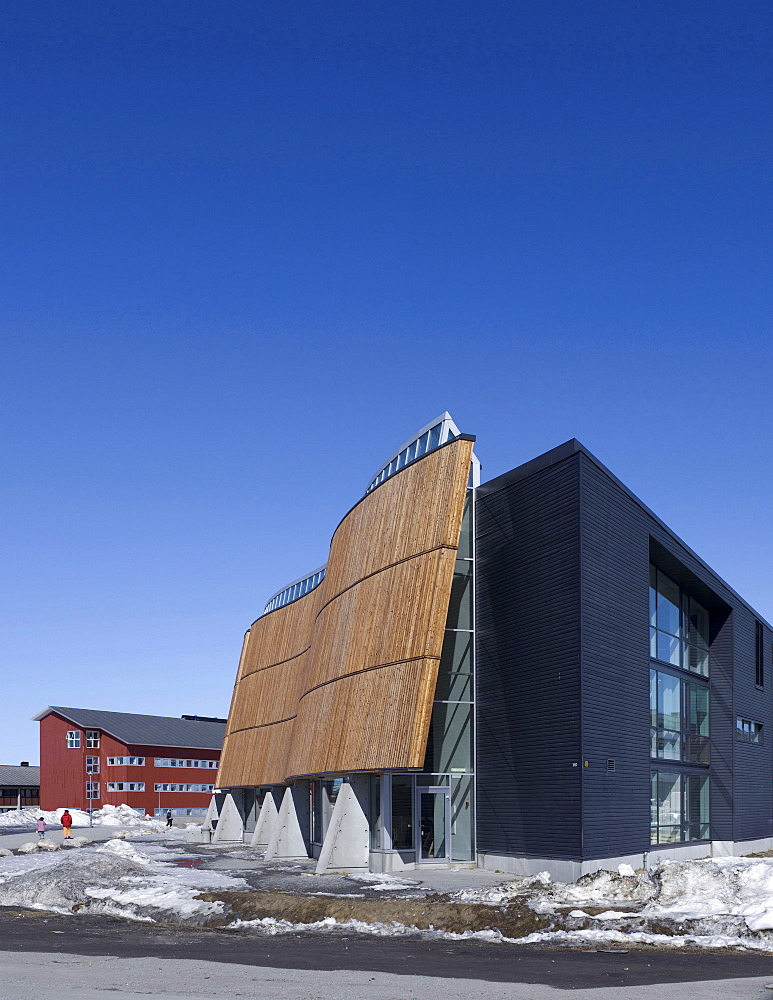 Katuaq Culture Centre, Nuuk, Greenland, Polar Regions - 815-2212
