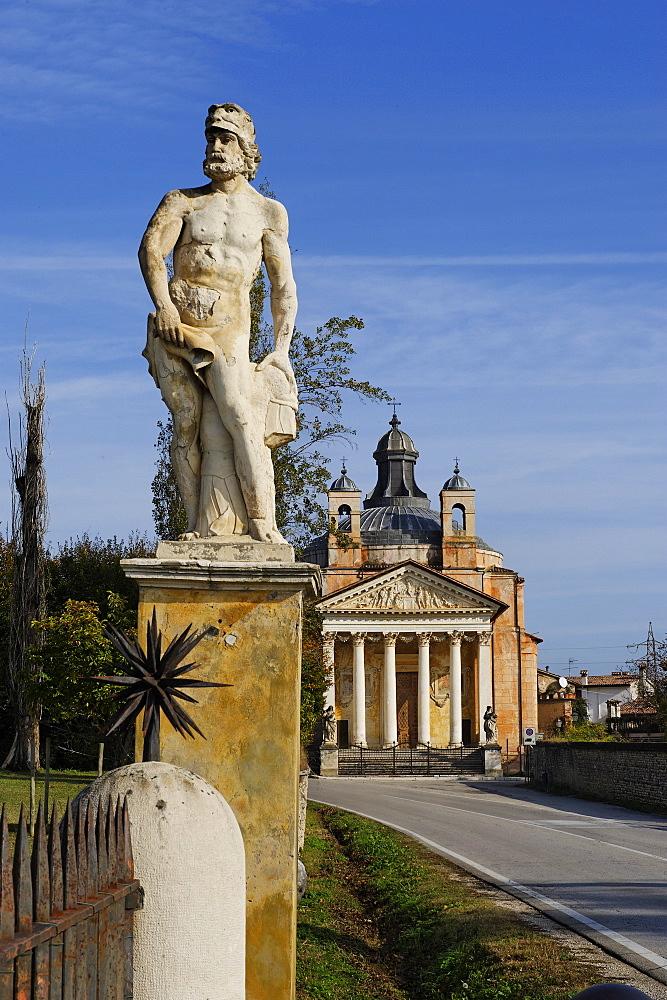 Il Tempietto Barbaro, Maser, Veneto, Italy, Europe - 815-2214