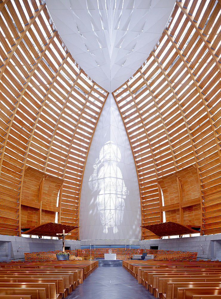 Cathedral of Christ the Light, architects Skidmore, Owings and Merrill, Oakland, California, United States of America, North America - 815-2262