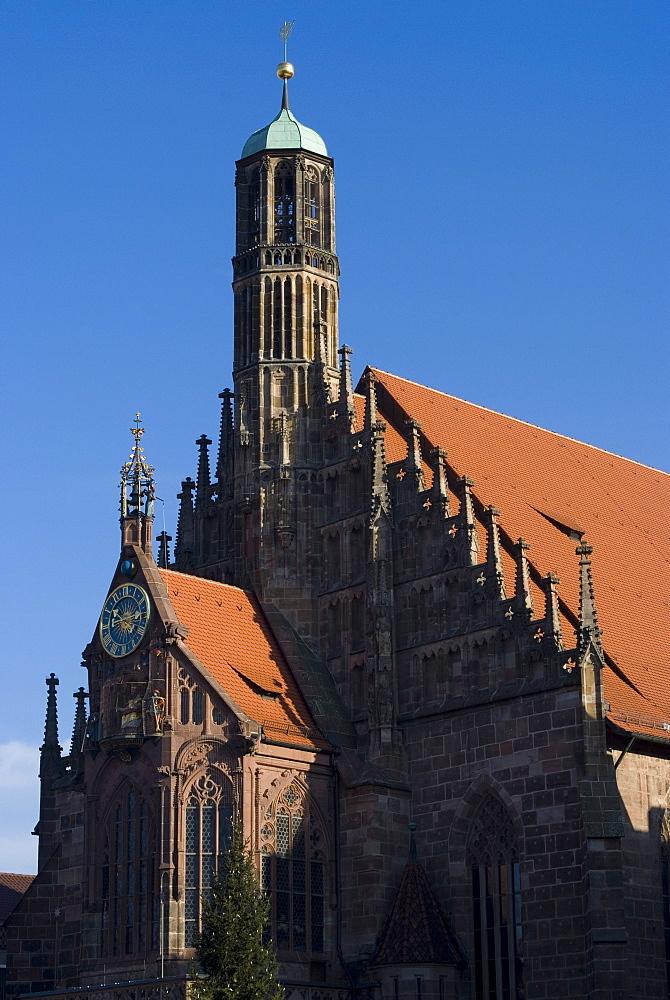Unsere Liebe Frau (Our Lady) Church, Nuremberg, Bavaria, Germany, Europe