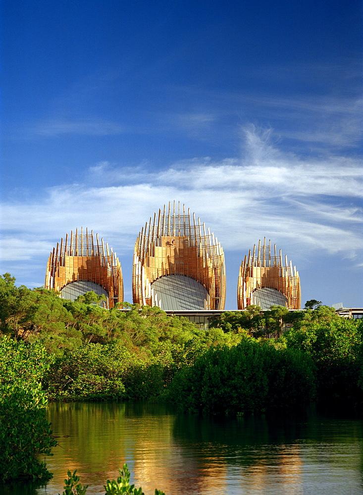 Tjibaou Cultural Centre, Noumea, New Caledonia, Pacific