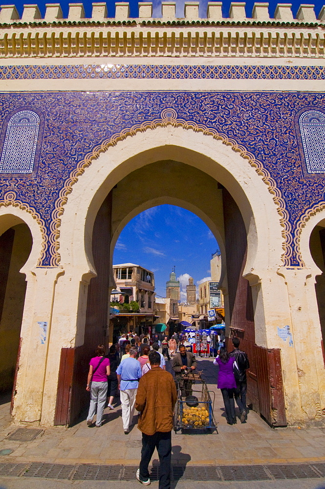 Old Medina of Fez, UNESCO World Heritage Site, Morocco, North Africa, Africa