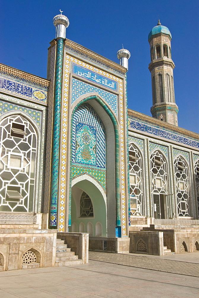 Haji Yakoub Mosque and Medressa, Dushanbe, Tajikistan, Central Asia