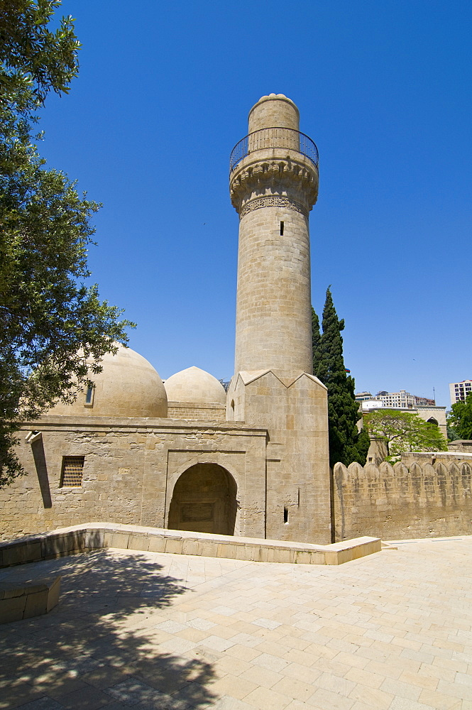 Dervish Mausoleum at the Shirvanshah Palace, UNESCO World Heritage Site, Baku, Azerbaijan, Central Asia, Asia