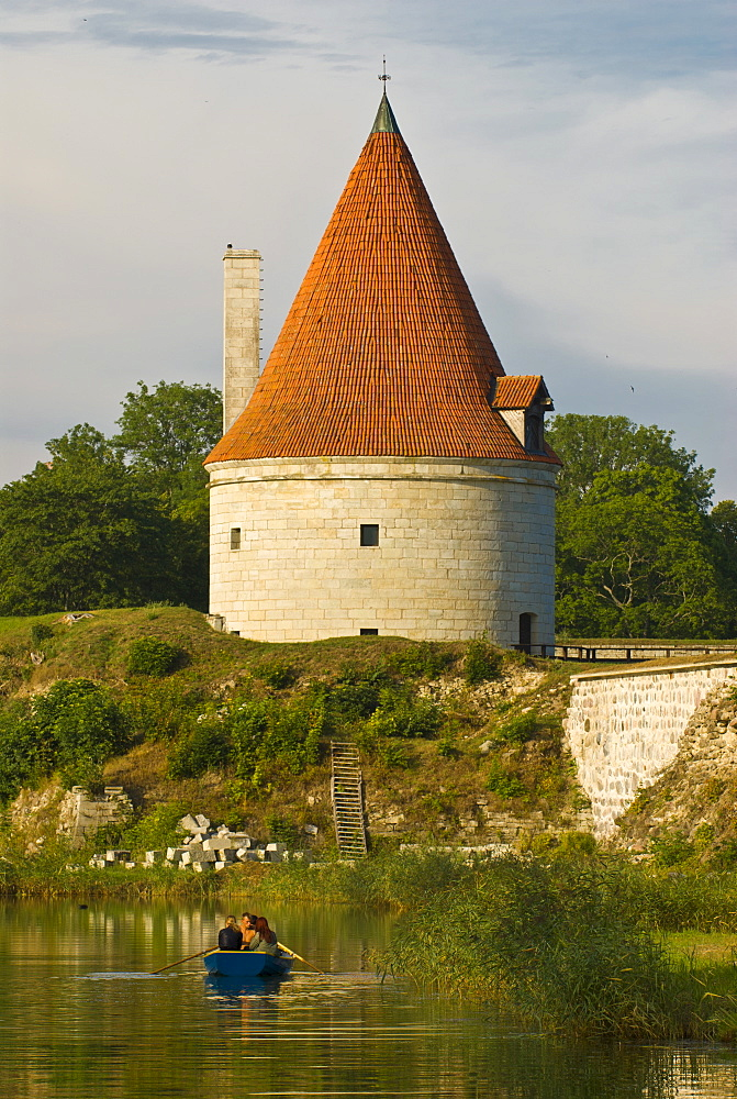 Kuressaare Castle at the Saaremaa Island, Estonia, Baltic States, Europe