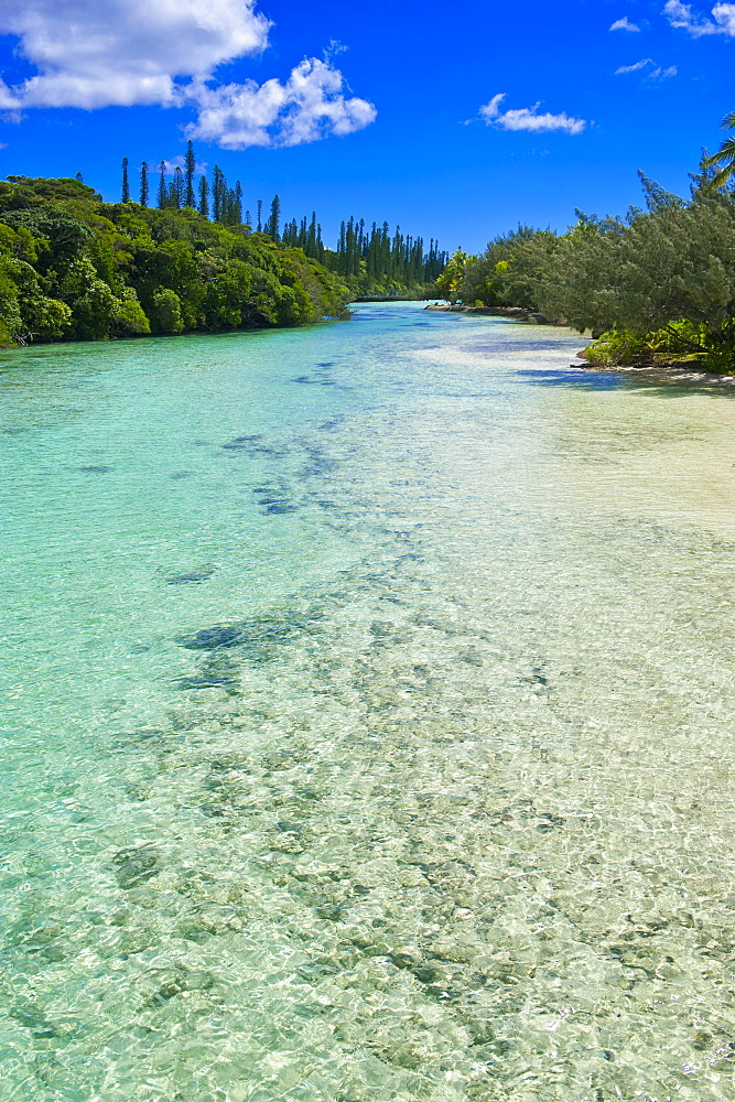 Bay de Oro, Ile des Pins, New Caledonia, Melanesia, South Pacific, Pacific