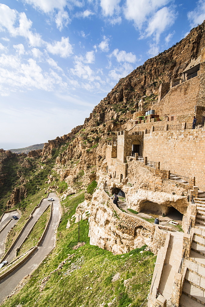 Rabban Hormzid Monastery (Sant Hormzid Monastery) in Al-Kosh, Iraq Kurdistan, Iraq, Middle East