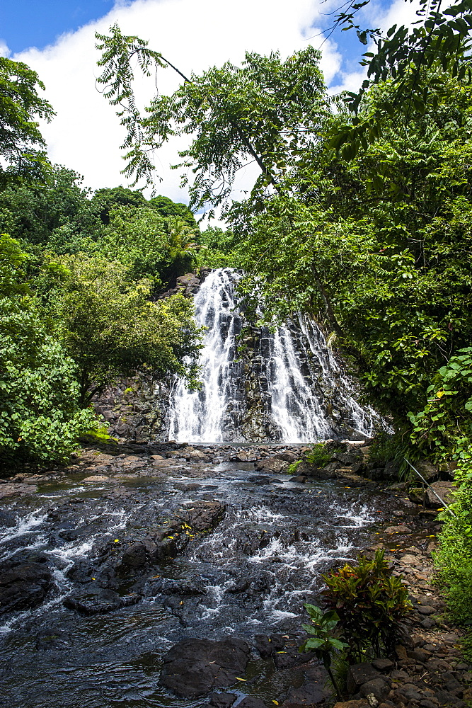 Kepirohi waterfall, Pohnpei (Ponape), Federated States of Micronesia, Caroline Islands, Central Pacific, Pacific