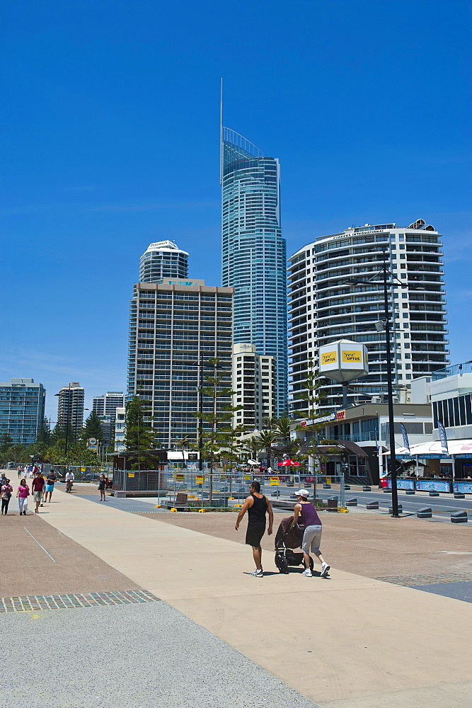 High rise buildings in Surfers Paradise, Queensland, Australia, Pacific