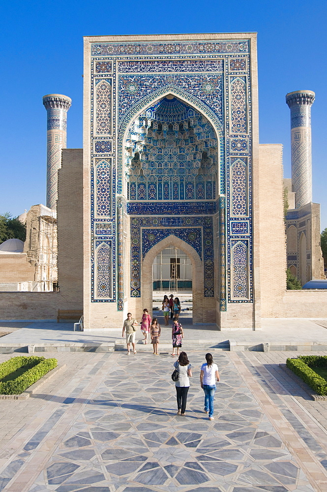 Guri Amir Mausoleum, UNESCO World Heritage Site, Samarkand, Uzbekistan, Central Asia, Asia