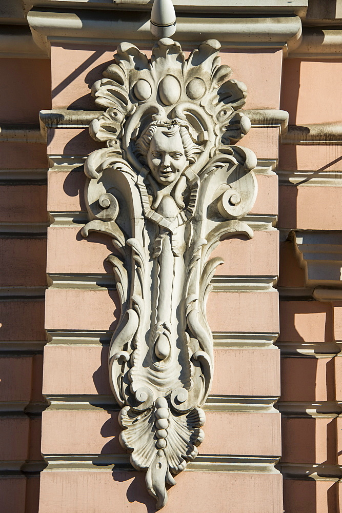 Architectural detail, St. Petersburg, Russia, Europe