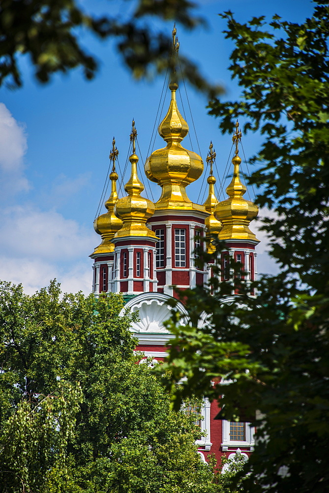 Assumption Church in the Novodevichy Convent, Moscow, Russia, Europe