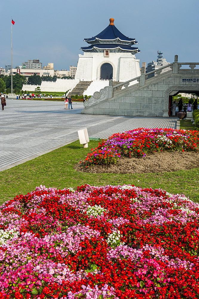 Chiang Kai-Shek Memorial Hall, Taipei, Taiwan, Asia