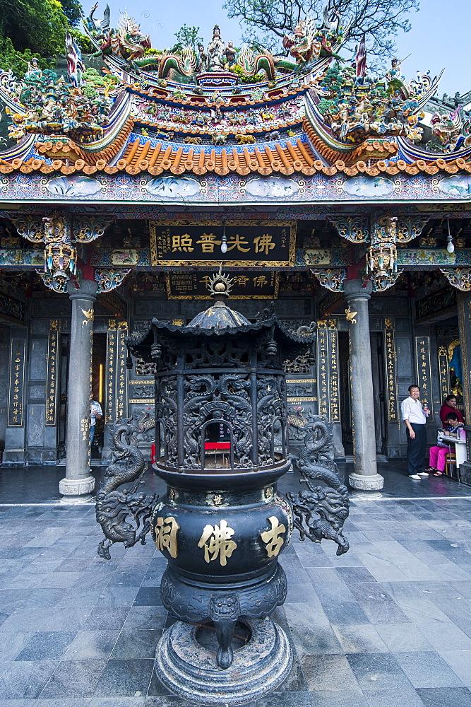 Guandu Temple, Guandu, Taipei, Taiwan, Asia