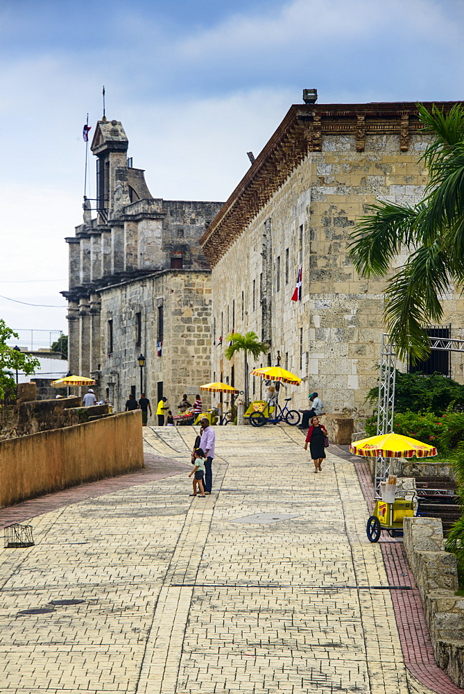 Museo de las Casas Reales in the Zona Colonial, Old Town, UNESCO World Heritage Site, Santo Domingo, Dominican Republic, West Indies, Caribbean, Central America