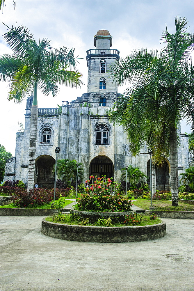 Colonial Spanish Albuquerque Church in Bohol, Philippines, Southeast Asia, Asia
