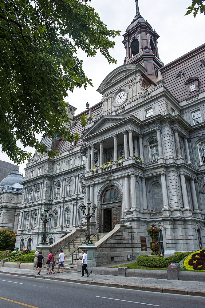 Montreal City Hall, Montreal, Quebec, Canada, North America