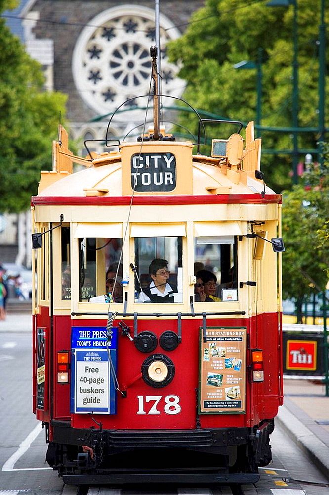 Christchurch Tramway, South Island, New Zealand