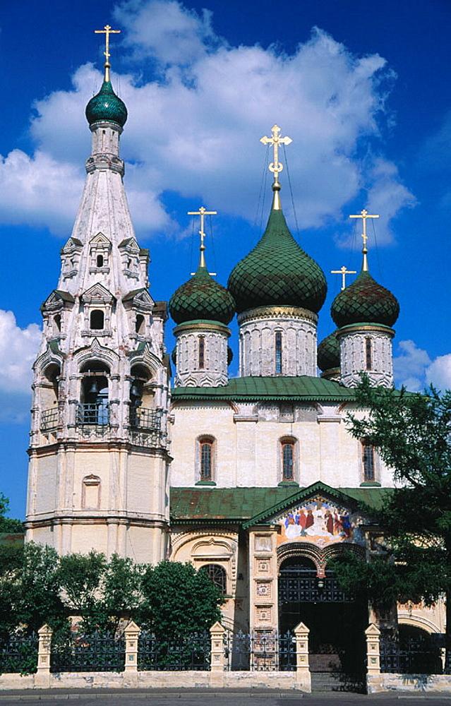 Church of St, Elijah the Prophet, Yaroslavl, Russia