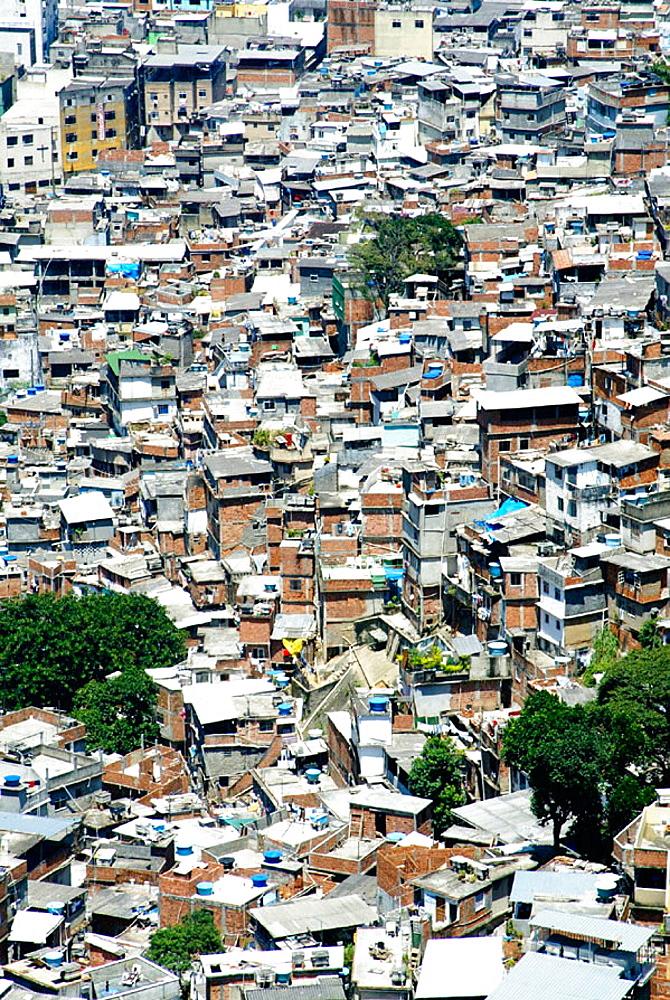 Shanty town, Rio de Janeiro, Brazil - 817-125541