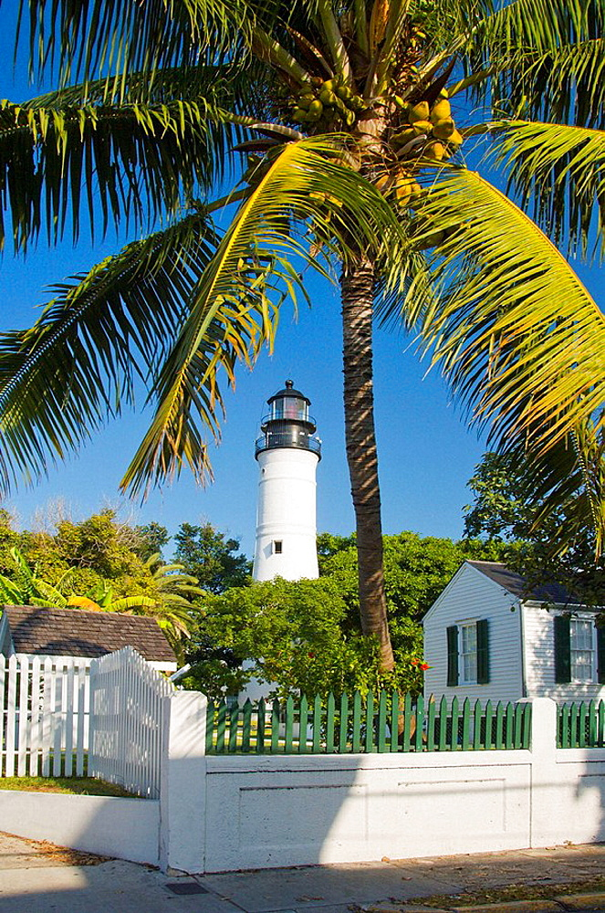 The historic Key West Lighthouse, Key West, Florida, USA, 2008
