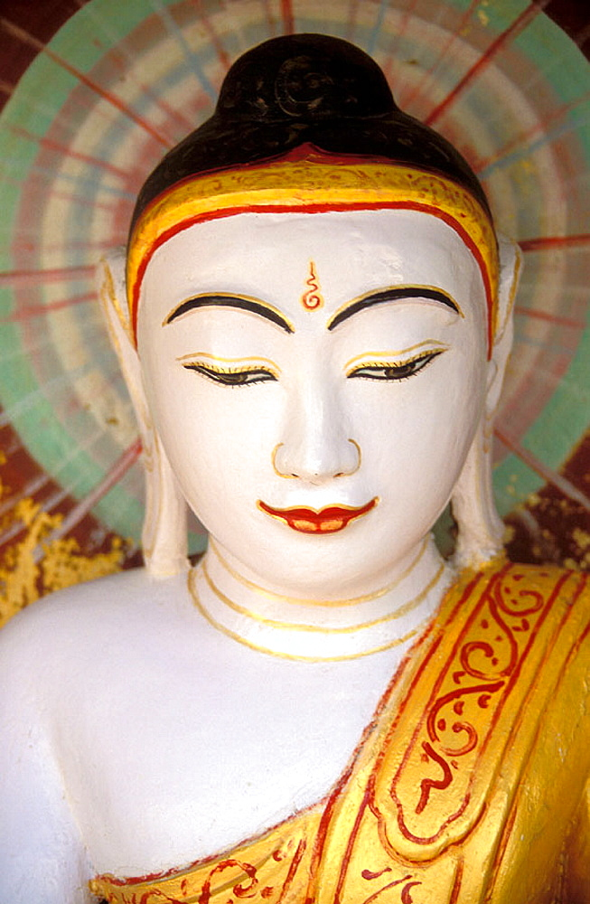 Buddha statue, Sagaing, Mandalay region, Myanmar