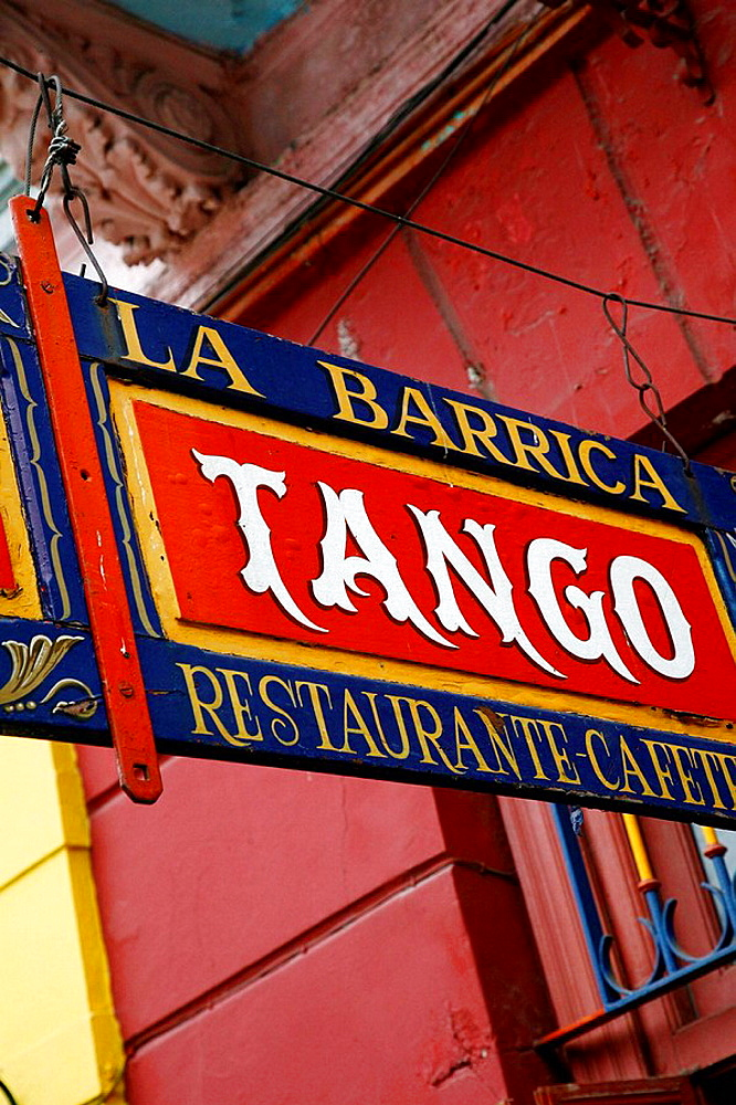 restaurant sign Buenos Aires, Argentina - 817-130362