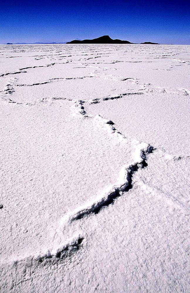 Salt desert, Salar de Uyuni, Bolivia