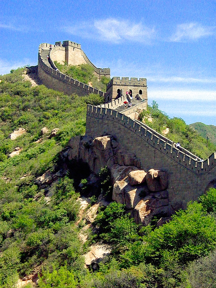 Badaling section, Great Wall, China
