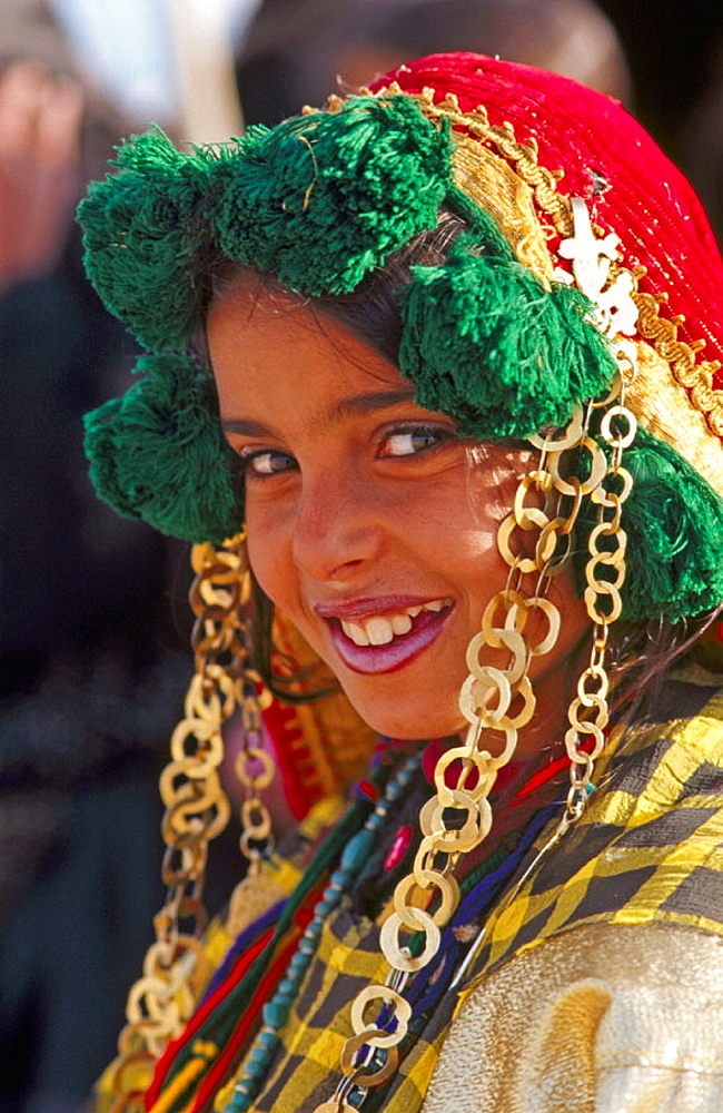 People at Sahara festival, Douz, Tunisia