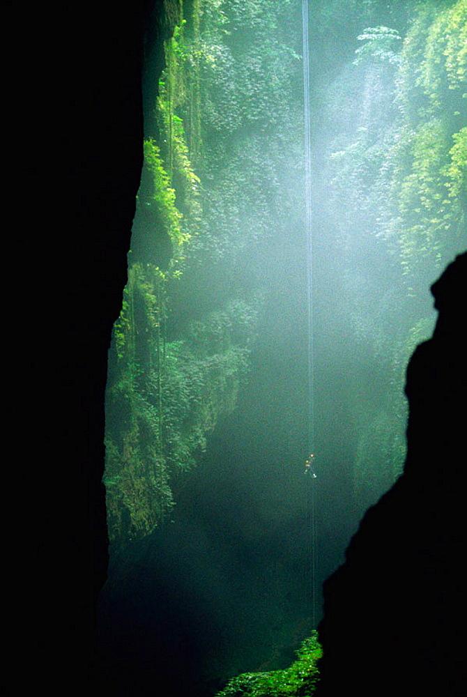 Lost World, Waitomo Caves, North Island, New Zealand