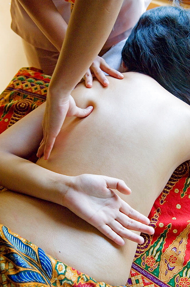 Full body massage, Tagaytay Nurture Spa, Manila area, Philippines
