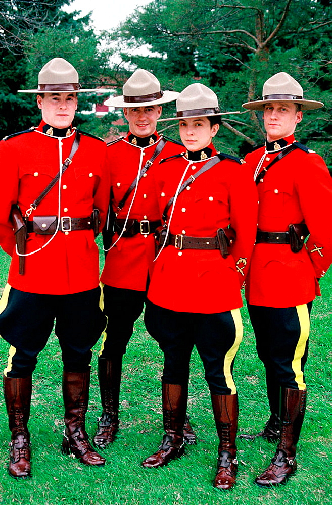 The Royal Canadian Mounted Police (RCMP), Training Academy, Ville de Regina, Saskatchewan Province, Canada