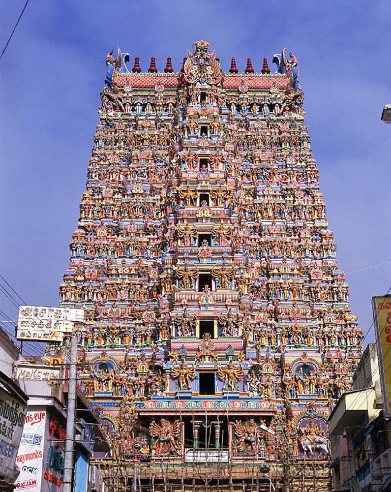 Sri Meenakshi Amman Temple, Madurai, Tamil Nadu, India - 817-14642