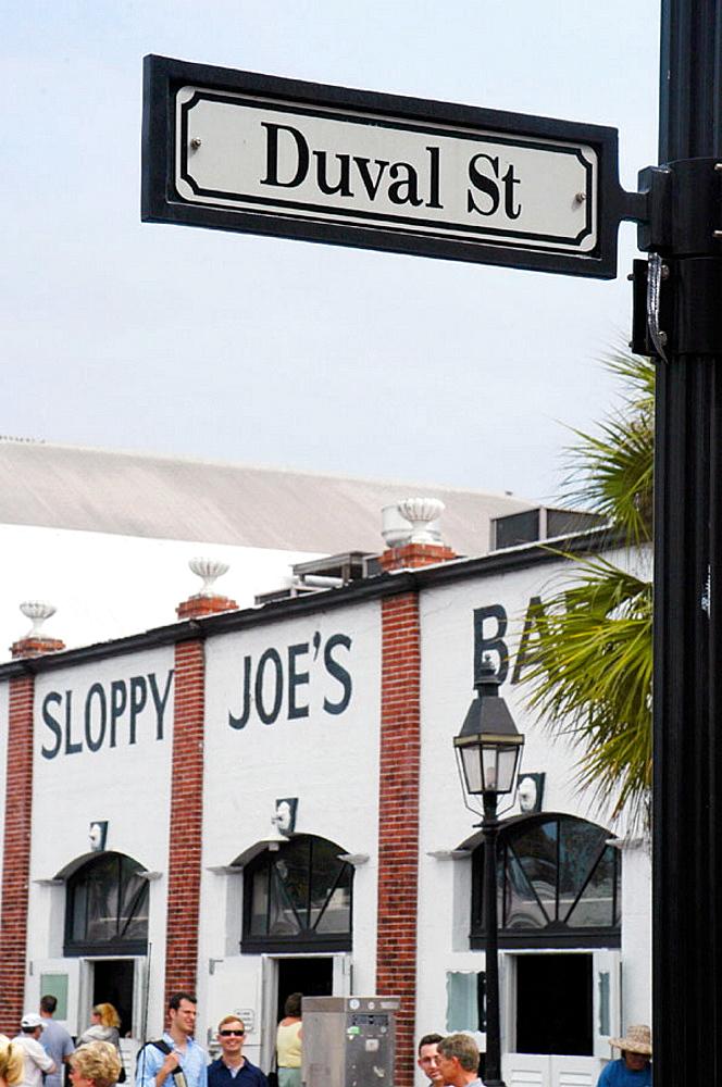 Main Street, Key West, Florida, USA