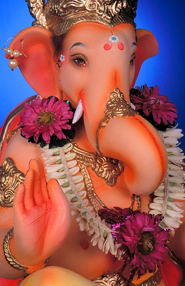 Idol of Lord Ganesh, Maharashtra, India