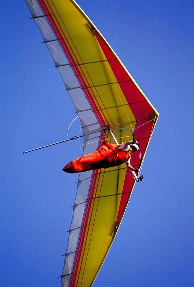 Hang Gliding at Mt Nebo State Park Arkansas along scenic highway 7